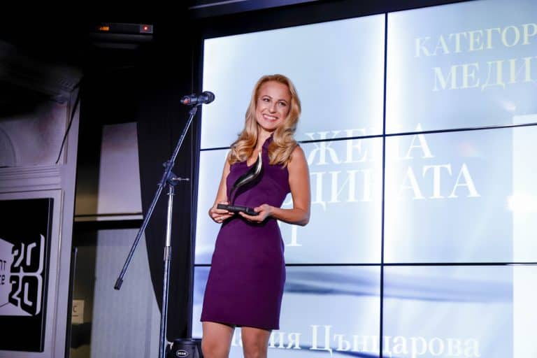 Мария Цънцарова - жена на годината